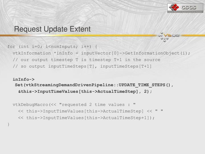 Request Update Extent
