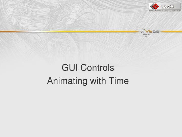 GUI Controls