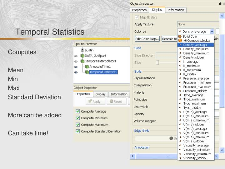 Temporal Statistics