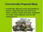 commercially prepared mixes2
