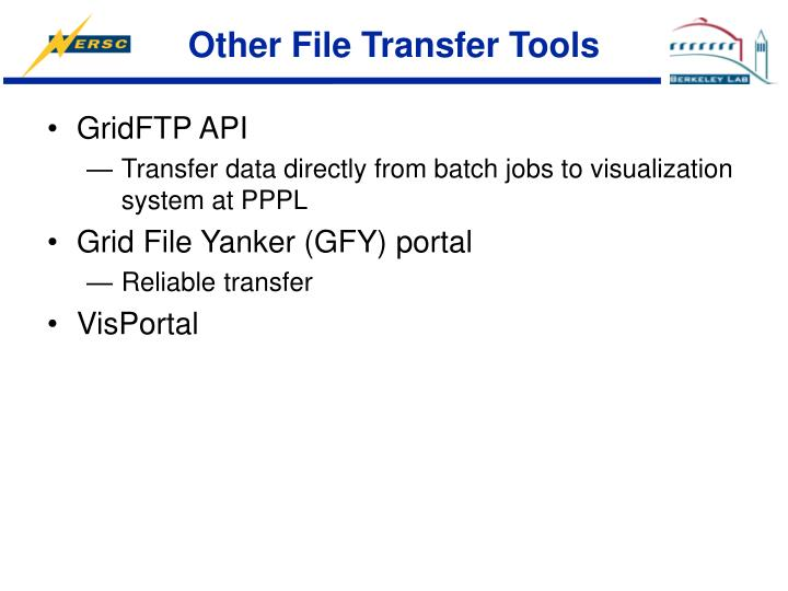 Other File Transfer Tools
