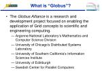 what is globus