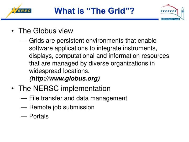 """What is """"The Grid""""?"""