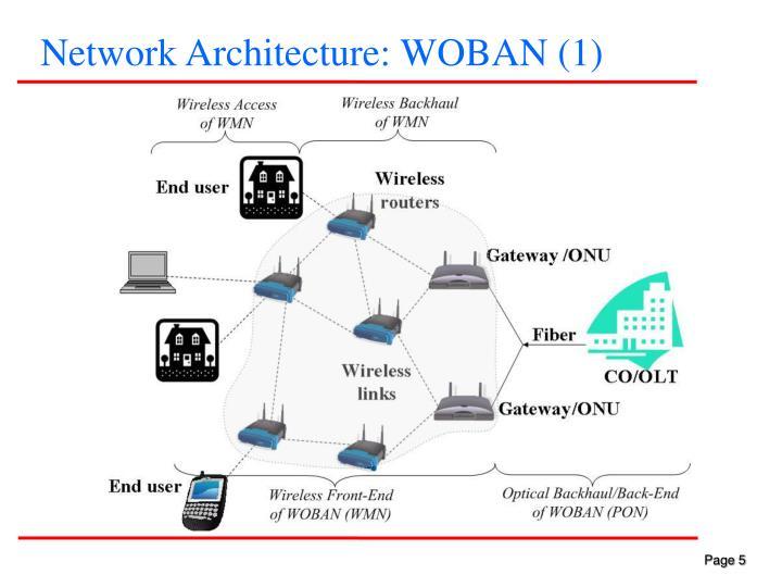 Network Architecture: WOBAN (1)