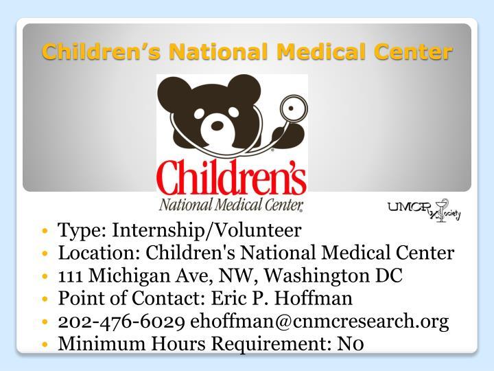 Children's National Medical Center