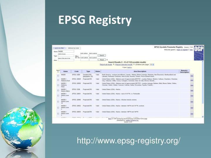 EPSG Registry