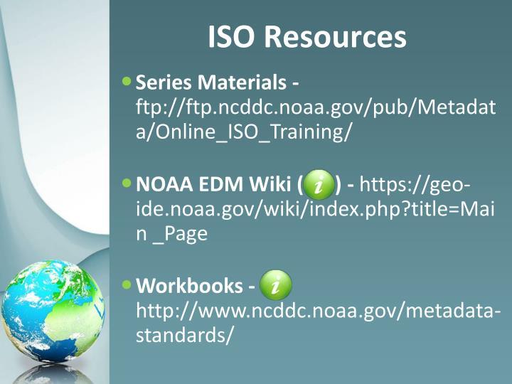 Series Materials -