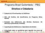 programa brasil quilombola pbq10