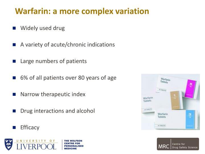 Warfarin: a more complex variation
