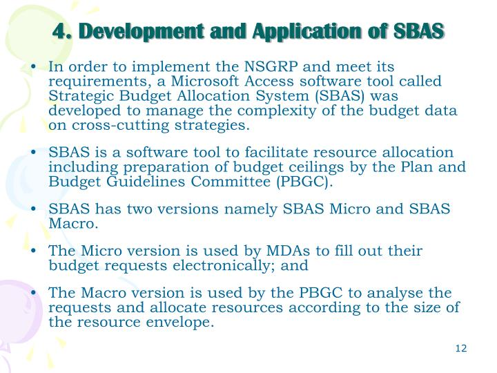 4. Development and Application of SBAS
