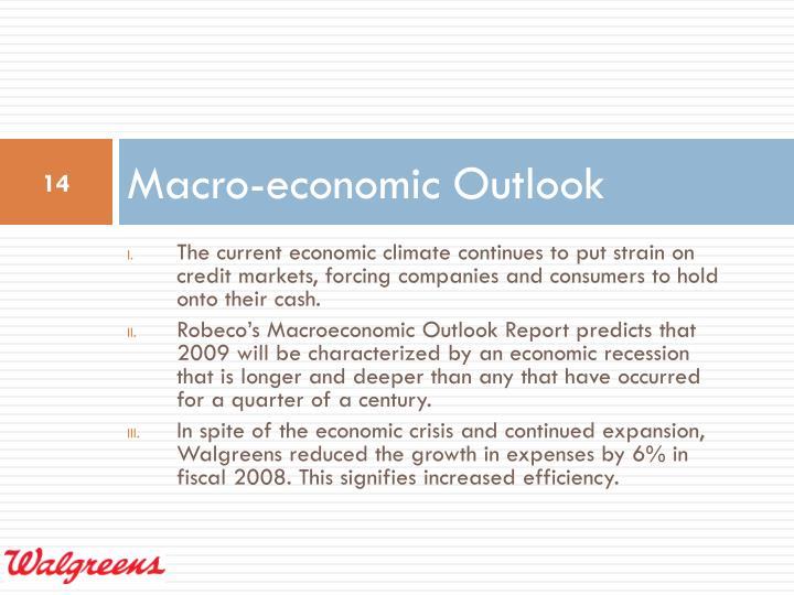 Macro-economic Outlook