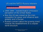 us and the nato russia relations