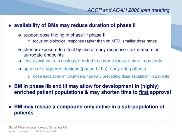availability of BMs may reduce duration of phase II