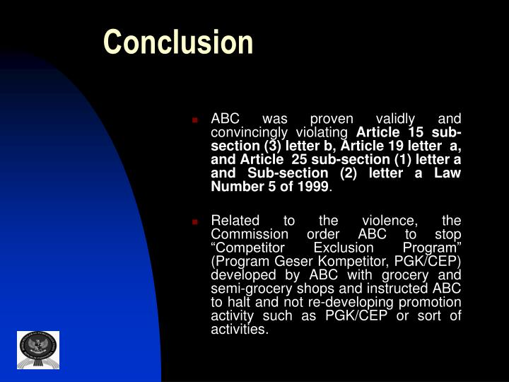 ABC was proven validly and convincingly violating