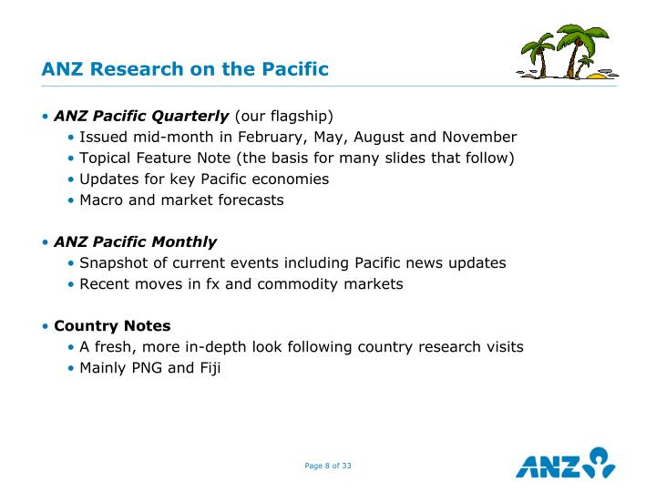 ANZ Research on the Pacific