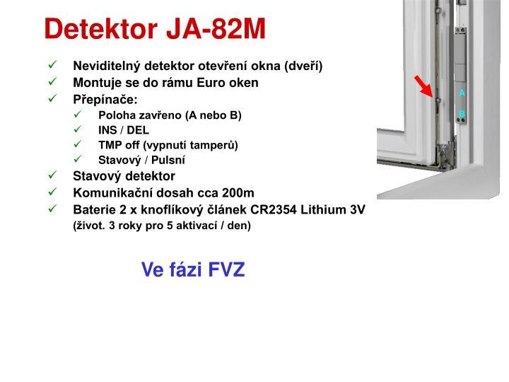 Detektor JA-82M