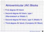 atrioventricular av blocks1
