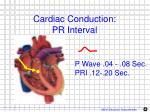 cardiac conduction pr interval