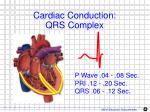 cardiac conduction qrs complex
