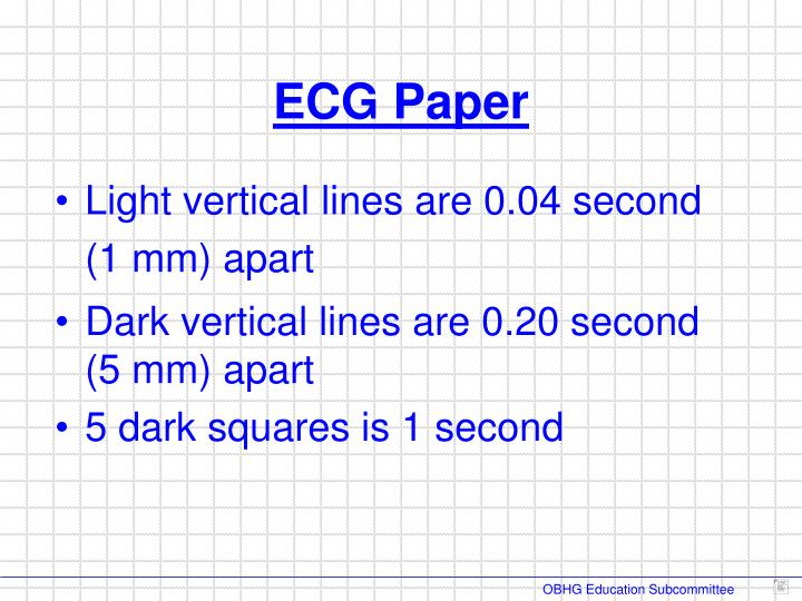 Light vertical lines are 0.04 second   (1 mm) apart
