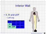 inferior wall