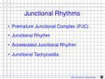 junctional rhythms1
