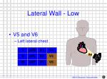 lateral wall low