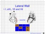 lateral wall
