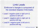 limb leads