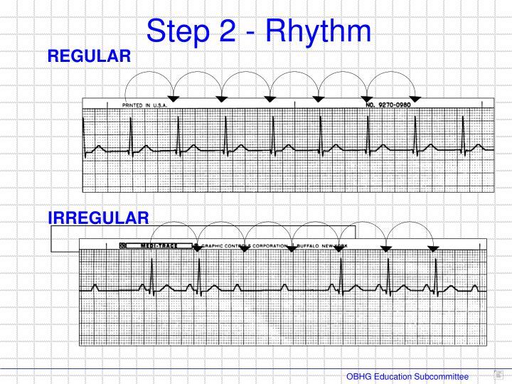 Step 2 - Rhythm