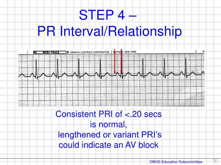 Consistent PRI of <.20 secs is normal,