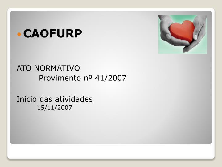 CAOFURP
