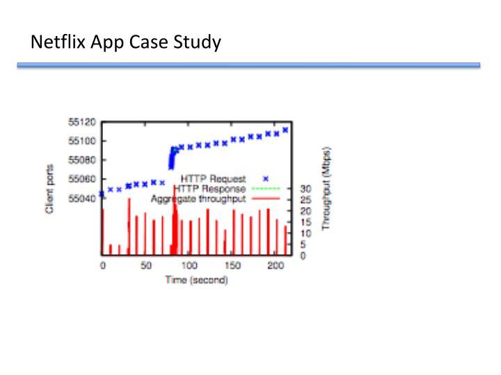 Netflix App Case Study