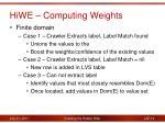 hiwe computing weights1