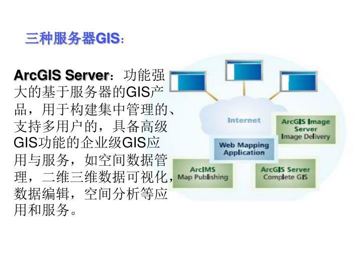 三种服务器