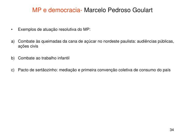 MP e democracia-