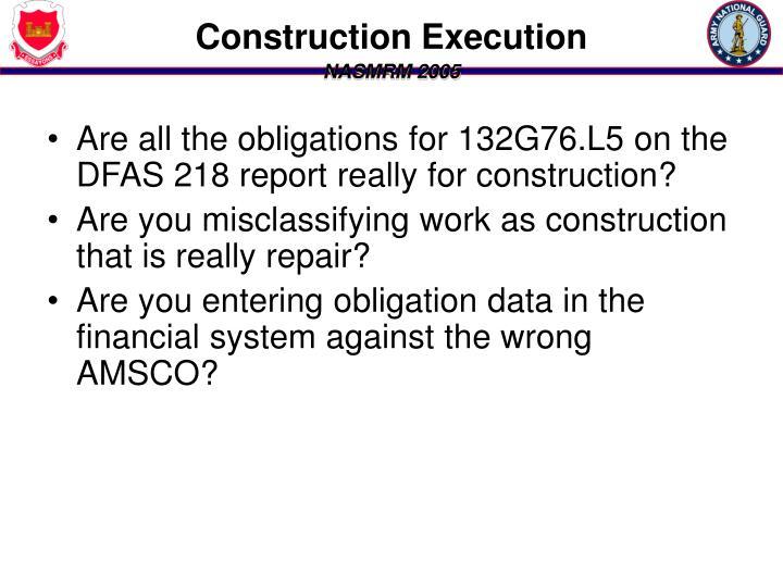 Construction Execution