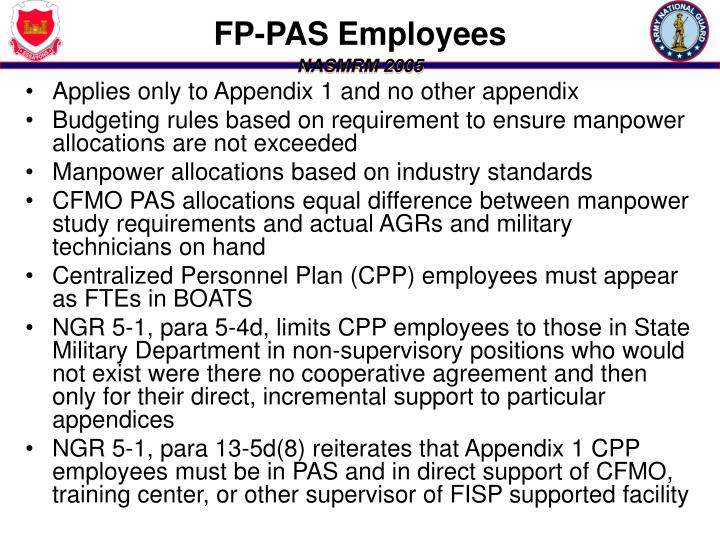 FP-PAS Employees