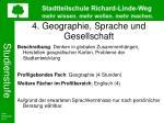 4 geographie sprache und gesellschaft