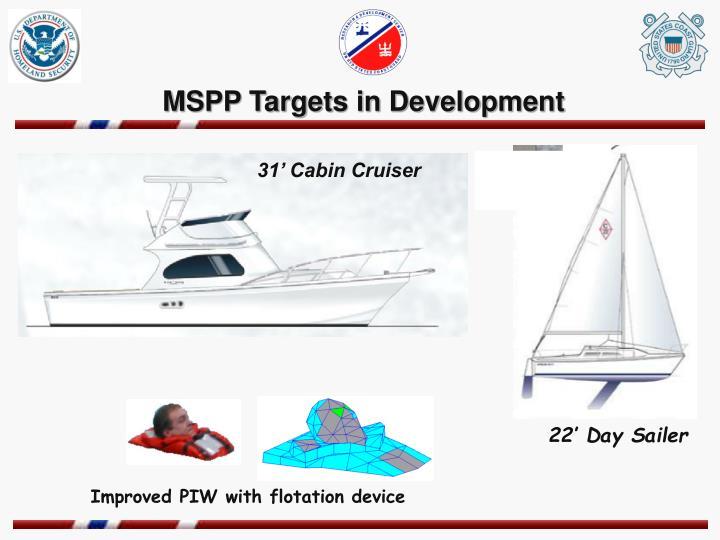 MSPP Targets in Development