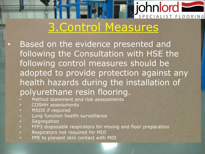 3.Control Measures
