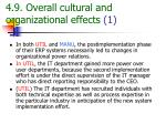 4 9 overall cultural and organizational effects 1