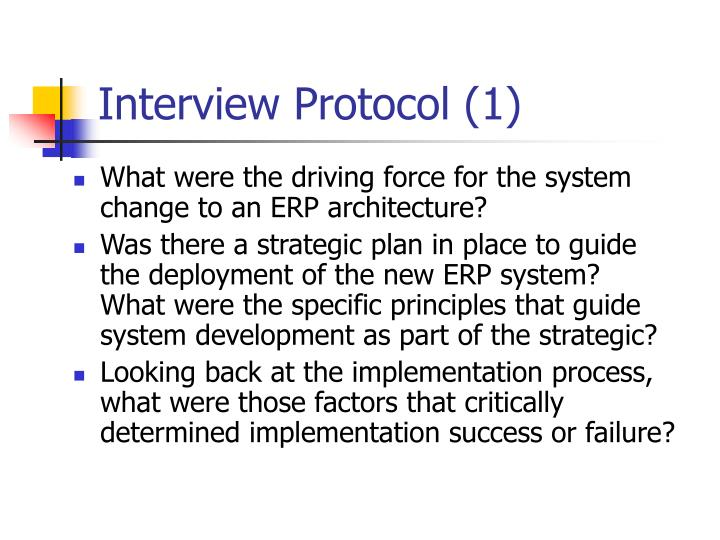 Interview Protocol (1)