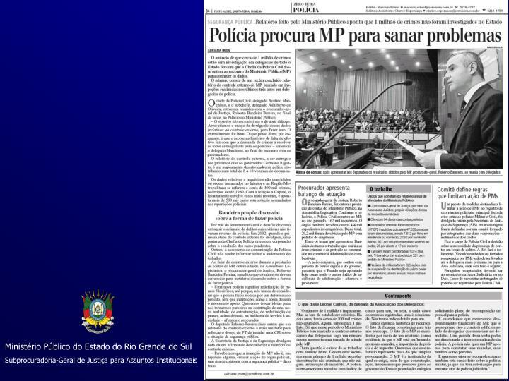 Ministério Público do Estado do Rio Grande do Sul