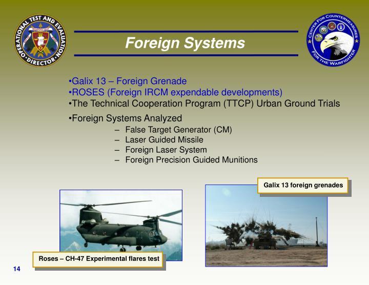 Galix 13 – Foreign Grenade