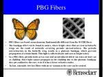 pbg fibers