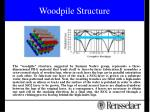 woodpile structure