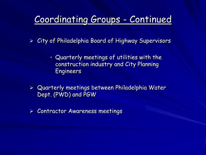 City of Philadelphia Board of Highway Supervisors