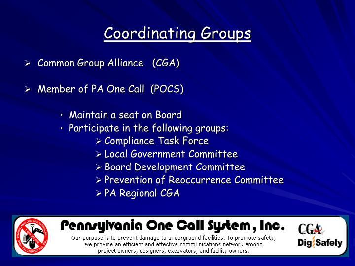 Common Group Alliance   (CGA)