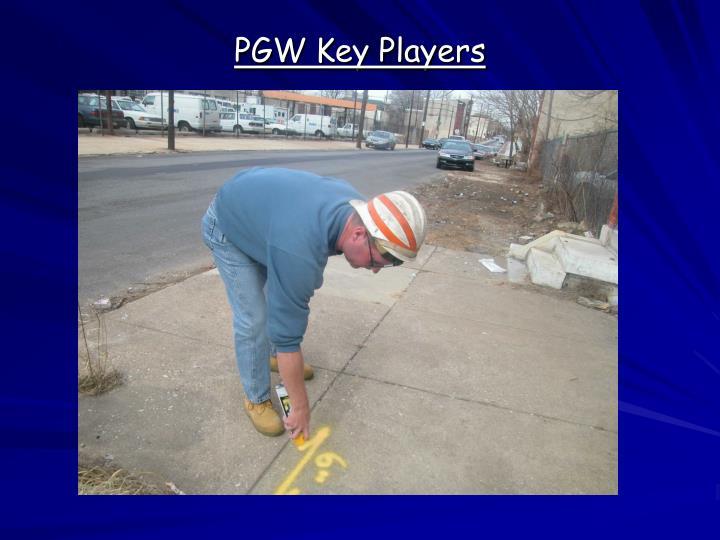 PGW Key Players